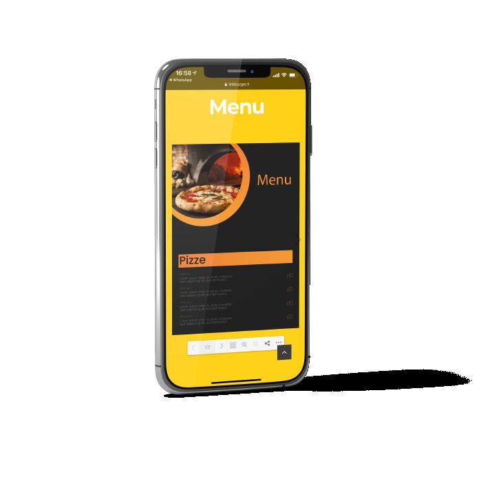 Linkburger - Siti web a basso costo! - Ristorazione